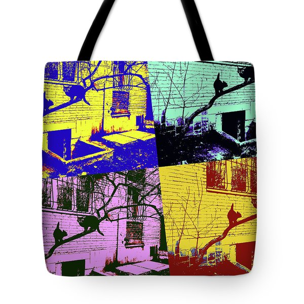 Cat Story Tote Bag