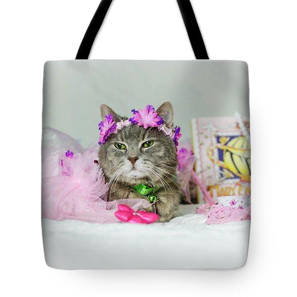 Cat Tea Party Tote Bag