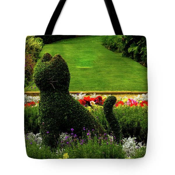 Cat Topiary Belfast Tote Bag