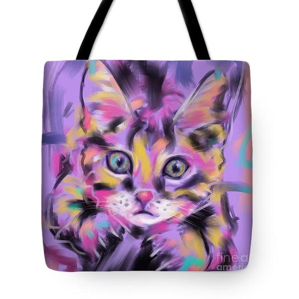 Cat Wild Thing Tote Bag