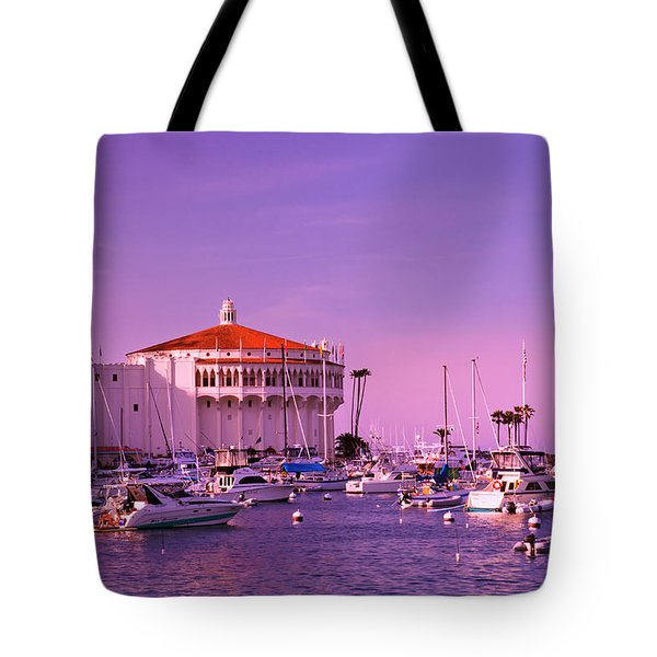 Catalina Casino Tote Bag by Marie Hicks