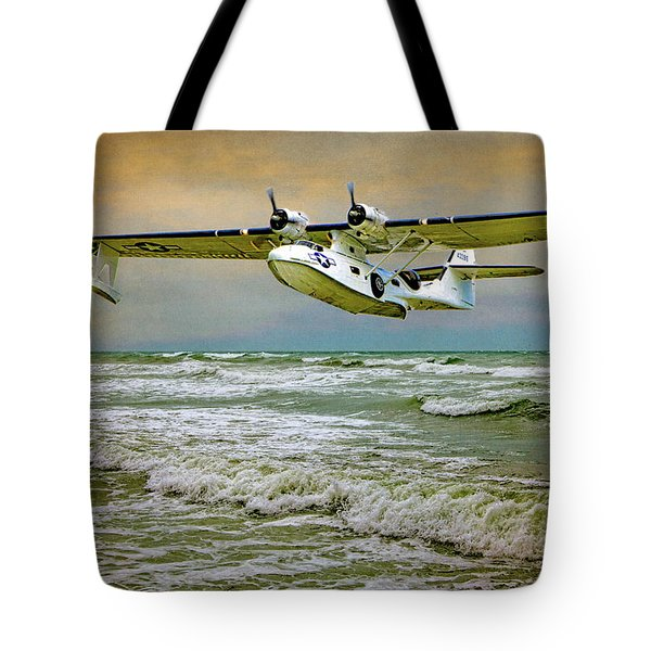 Catalina Flying Boat Tote Bag