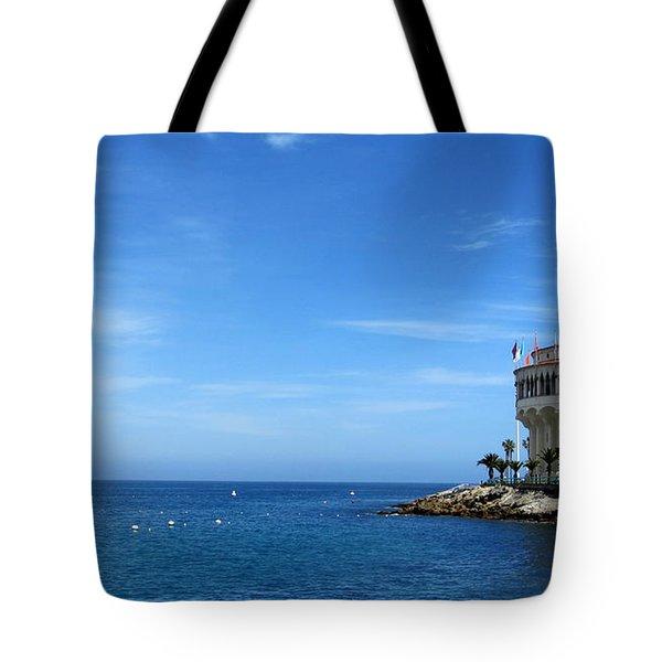 Catalina Island Casino Tote Bag