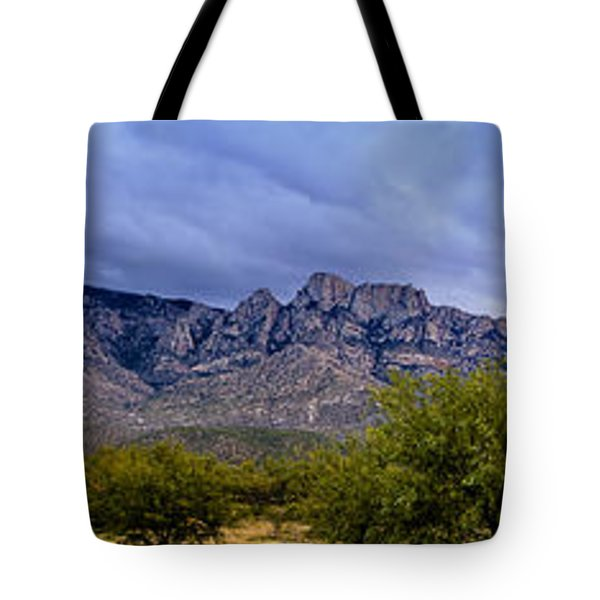Catalina Mountains P1 Tote Bag