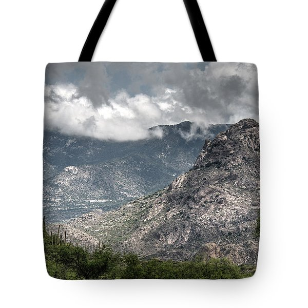Catalina Mountains Tote Bag