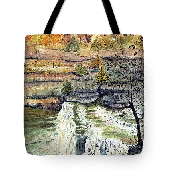 Cataract Falls Tote Bag