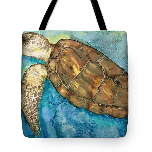 Catch A Wave Tote Bag by Lisa  Marsing