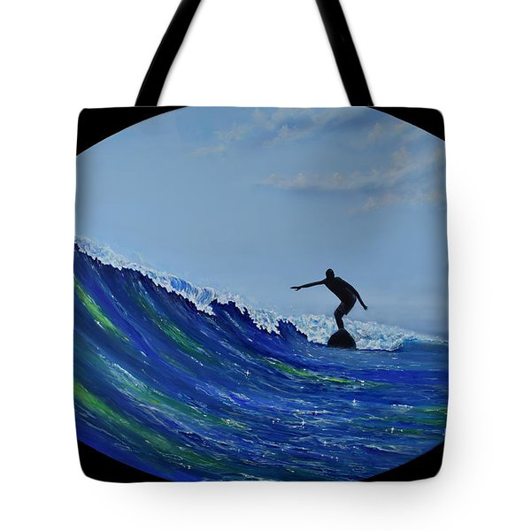 Catch A Wave Tote Bag
