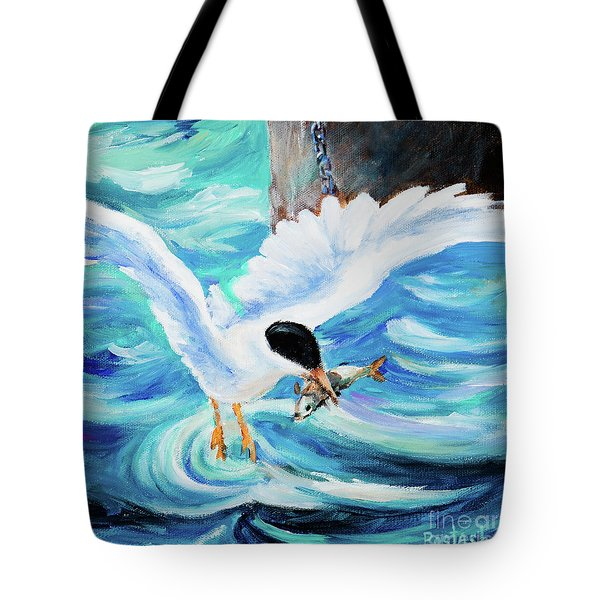 Catch Tote Bag