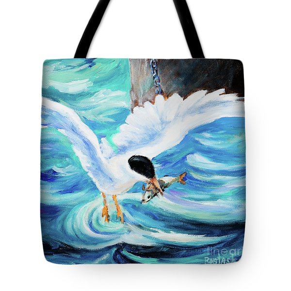 Catch Tote Bag by Igor Postash