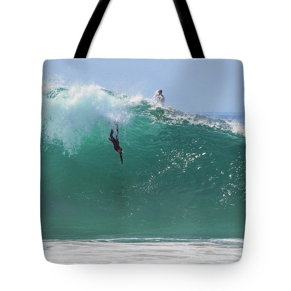 Catch Me Tote Bag by Joe Schofield