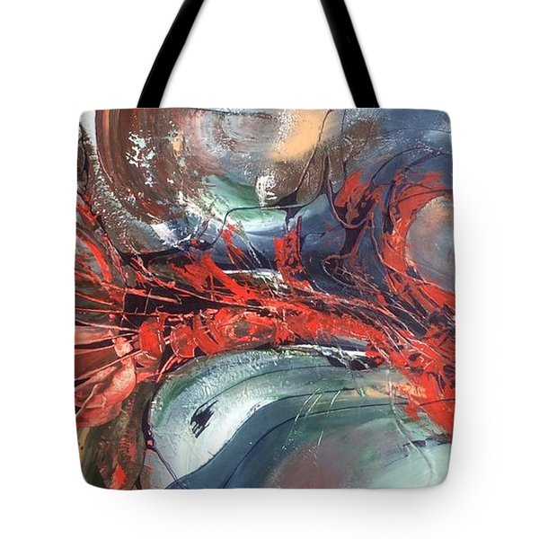 Catch Of The Day Tote Bag by Pat Purdy