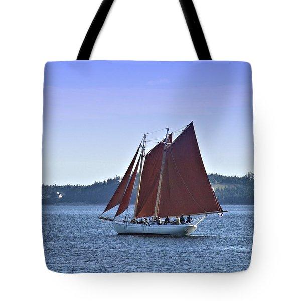 Catch The Breeze Tote Bag