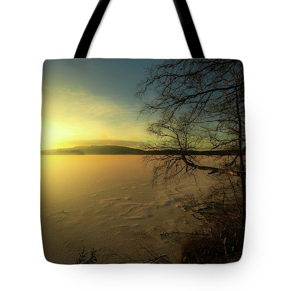 Catch The Light Tote Bag by Rose-Marie Karlsen