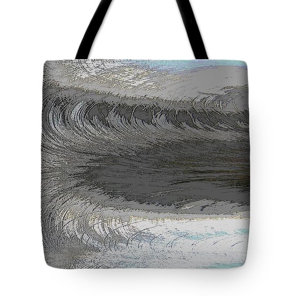 Catch The Wave Tote Bag by Tim Allen