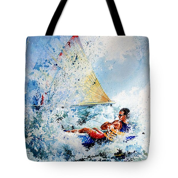Catch The Wind Tote Bag by Hanne Lore Koehler