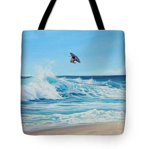 Catching Air Tote Bag by Joe Mandrick