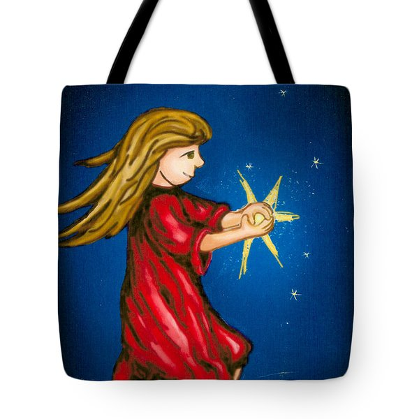Catching Moonbeams Tote Bag