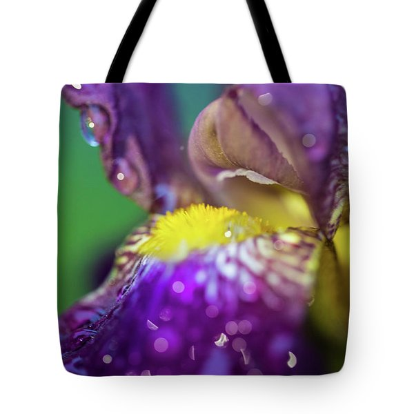 Catching Raindrops  Tote Bag