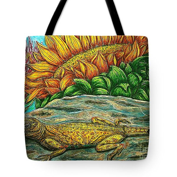 Catching Some Rays Tote Bag by Kim Jones