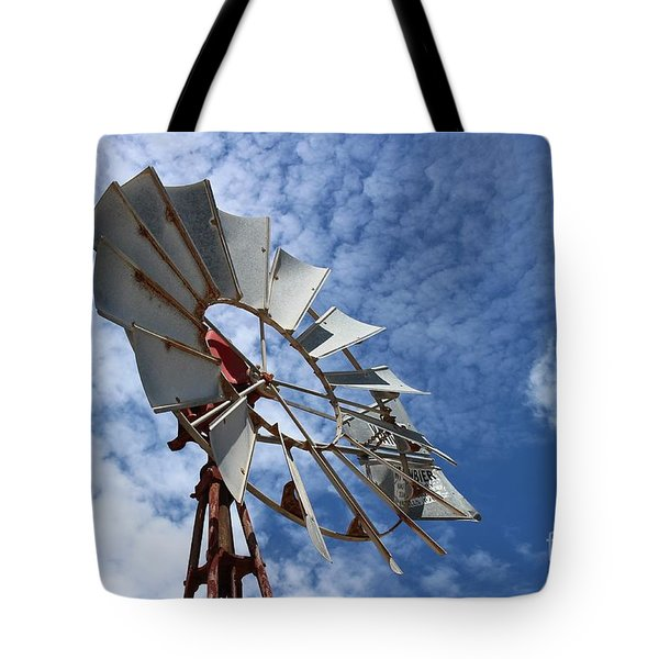 Tote Bag featuring the photograph Catching The Breeze by Stephen Mitchell