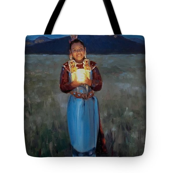 Catching The Moon Tote Bag