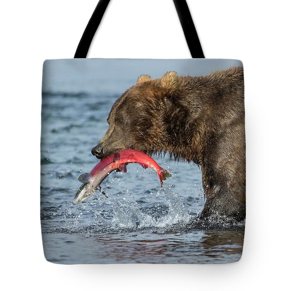Catching The Prize Tote Bag