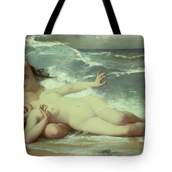 Catching Waves  Tote Bag