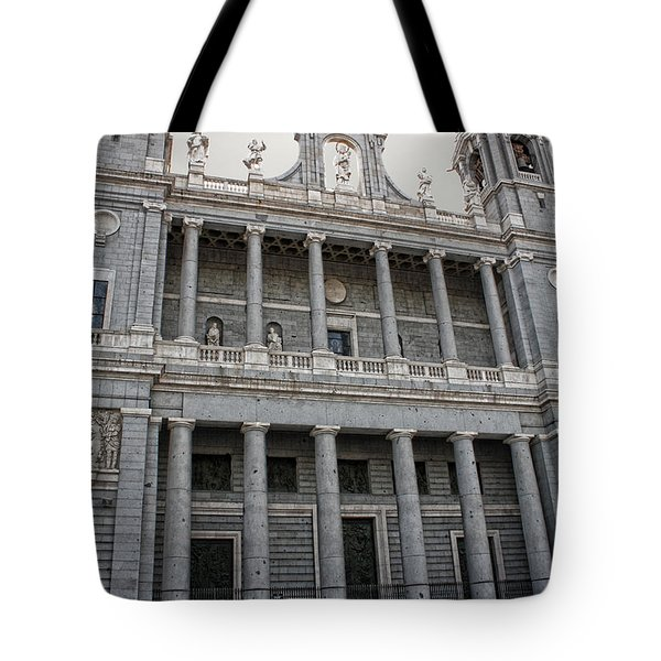 Catedral De La Almudena 2 Tote Bag by Angel Jesus De la Fuente