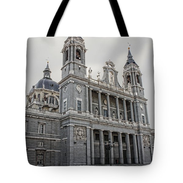 Catedral De La Almudena Tote Bag by Angel Jesus De la Fuente