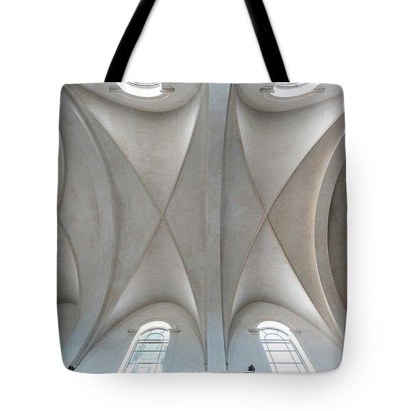 Catedral De La Purisima Concepcion Ceiling Tote Bag