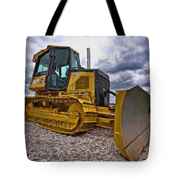 Caterpillar 650j Tote Bag