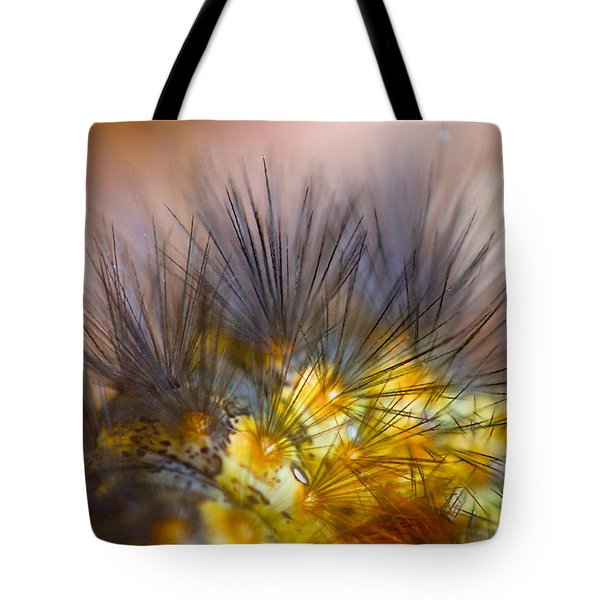 Caterpillar Hair Tote Bag