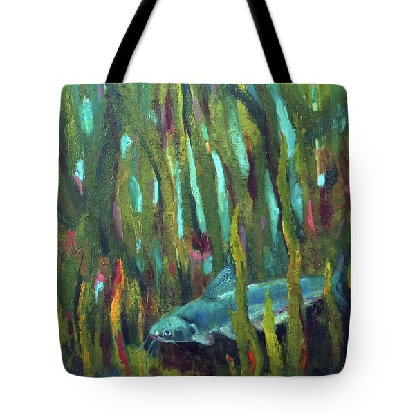 Catfish Tote Bag
