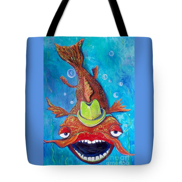 Catfish Clyde Tote Bag
