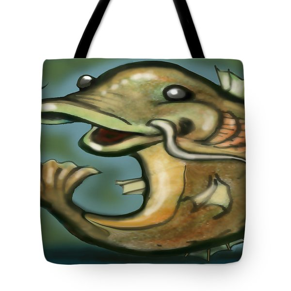 Catfish Tote Bag by Kevin Middleton