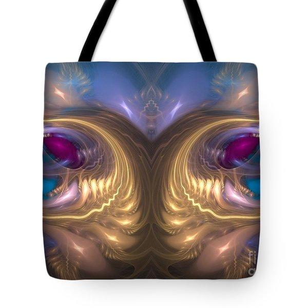 Catharsis - Abstract Art Tote Bag