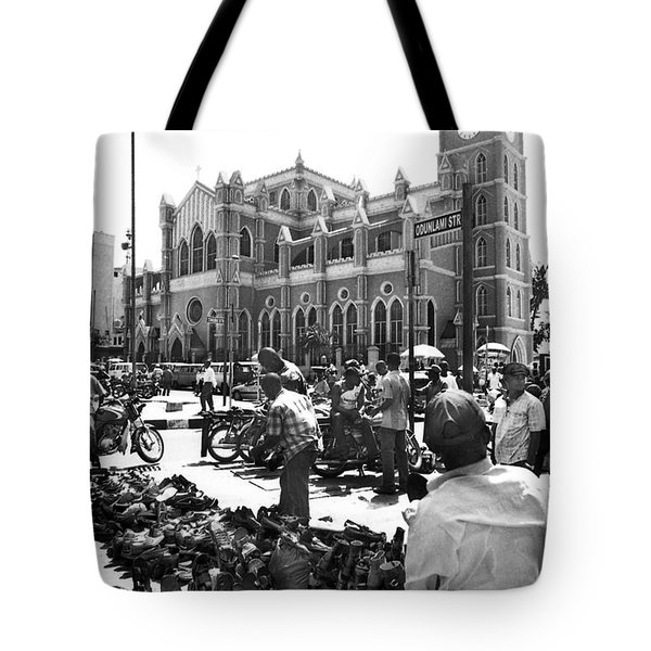 Cathedral Church Of Christ, Marina Tote Bag