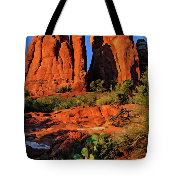 Cathedral 06-074 Tote Bag by Scott McAllister