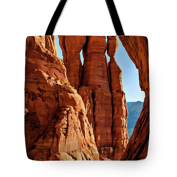 Cathedral 07-061 Tote Bag
