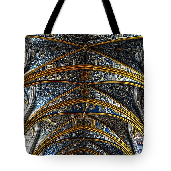 Cathedral Albi Tote Bag by Thomas M Pikolin