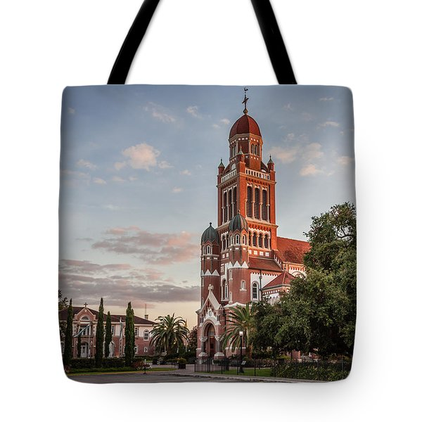 Cathedral And Residence Tote Bag