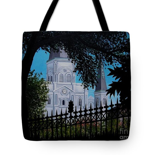 Cathedral At The Square Tote Bag