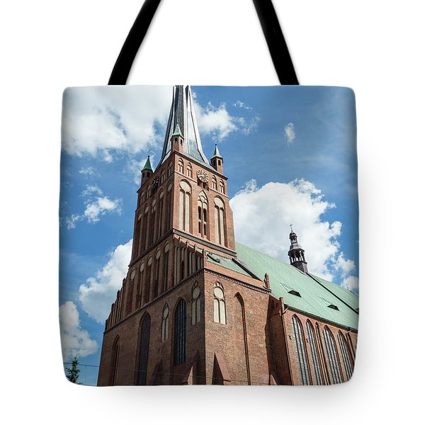 Cathedral Basilica Of St. James The Apostle, Szczecin A Tote Bag
