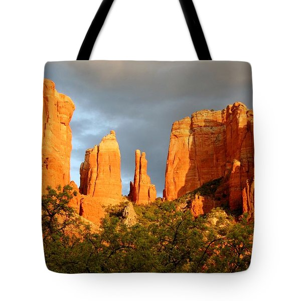 Cathedral Formation Tote Bag