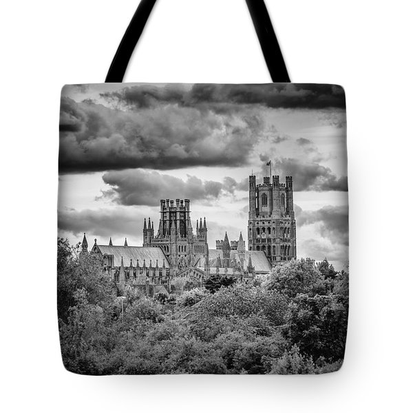 Tote Bag featuring the photograph Cathedral From The North-east by James Billings