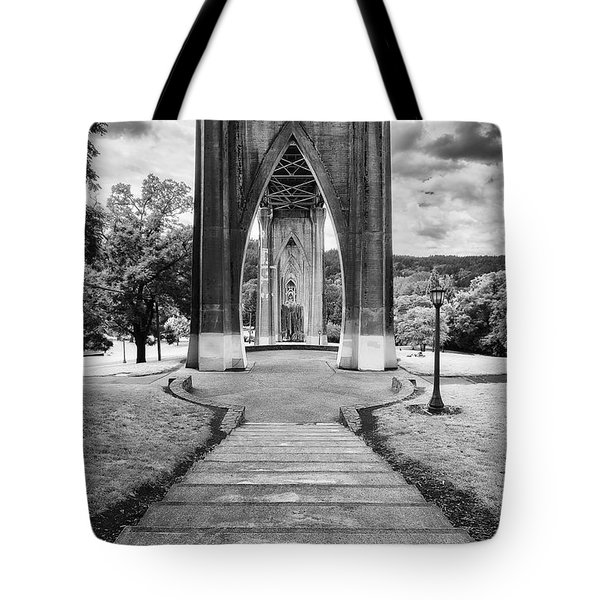 Cathedral Gates Tote Bag by Ryan Manuel