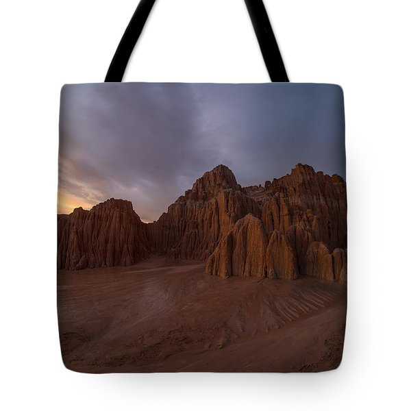 Cathedral Gorge Tote Bag