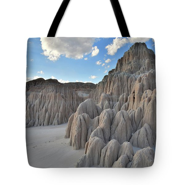 Cathedral Gorge State Park Tote Bag by Ray Mathis