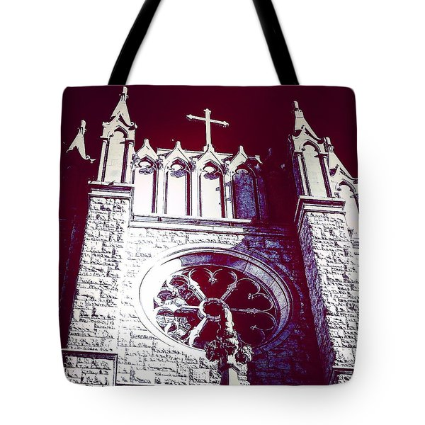 Cathedral In Archangel Glow Tote Bag